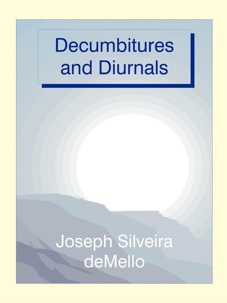 Decumbitures and Diurnals als Taschenbuch