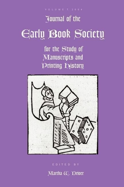 Journal of the Early Book Society Vol 7 als Taschenbuch