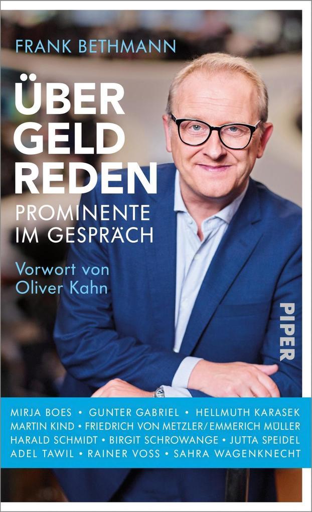 Über Geld reden als Buch von Frank Bethmann