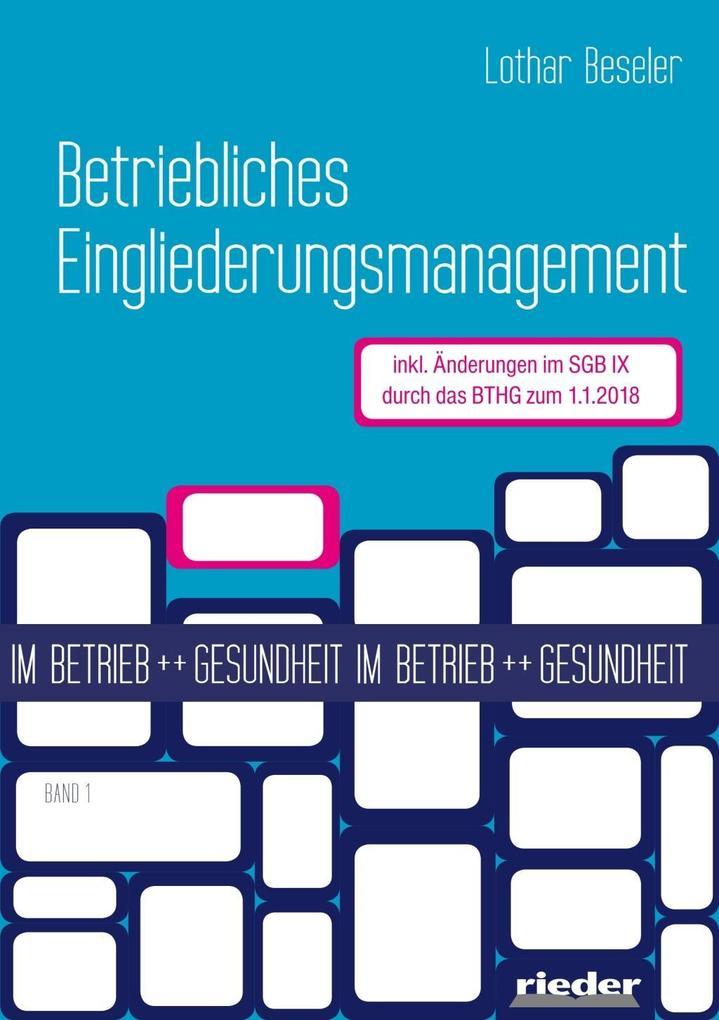 Betriebliches Eingliederungsmanagement als eBook