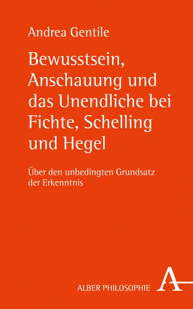 Bewusstsein, Anschauung und das Unendliche bei Fichte, Schelling und Hegel als Buch