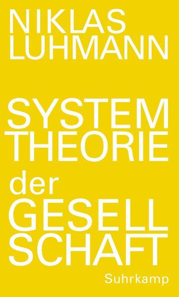 Systemtheorie der Gesellschaft als Buch von Niklas Luhmann, Christoph Gesigora