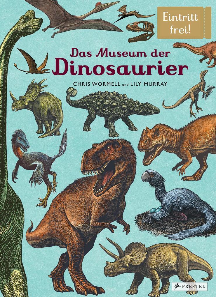 Das Museum der Dinosaurier als Buch