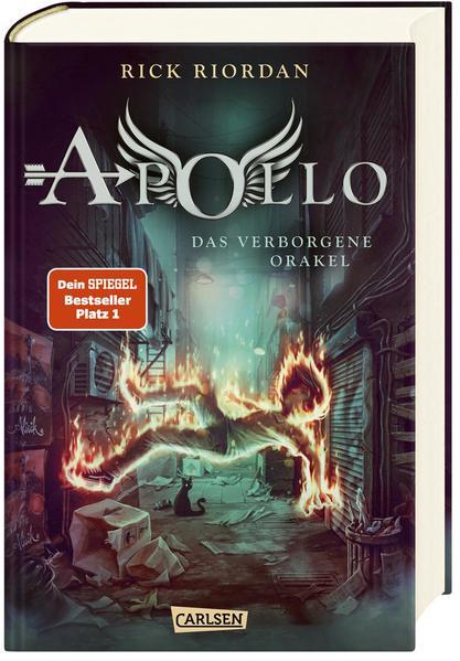 Die Abenteuer des Apollo 1: Das verborgene Orakel als Buch (gebunden)