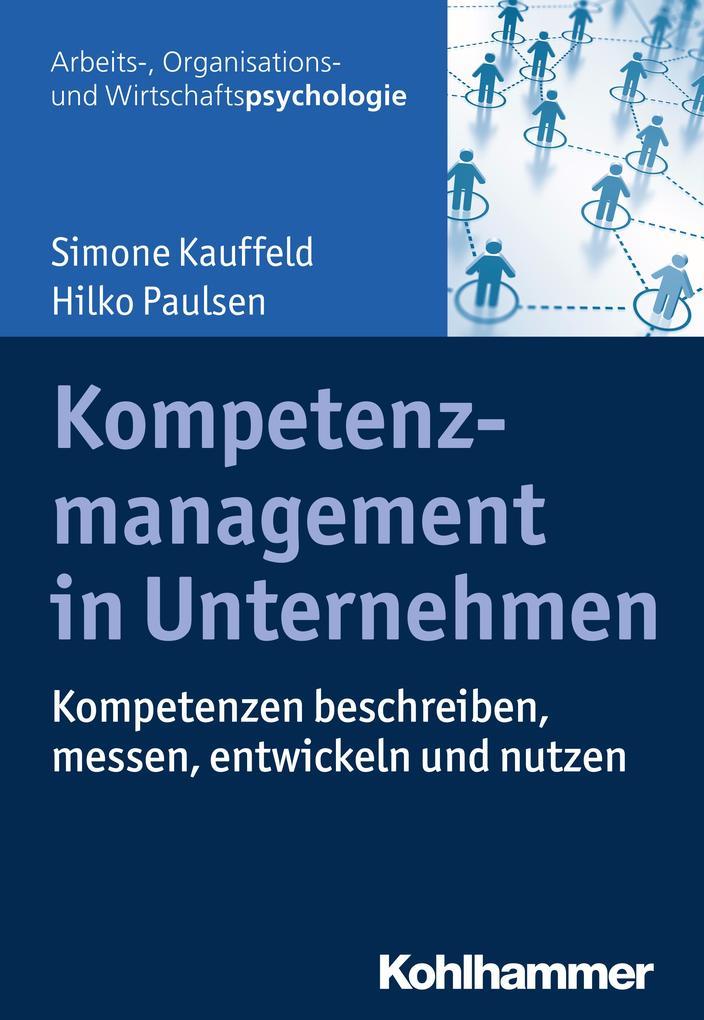 Kompetenzmanagement in Unternehmen als Buch