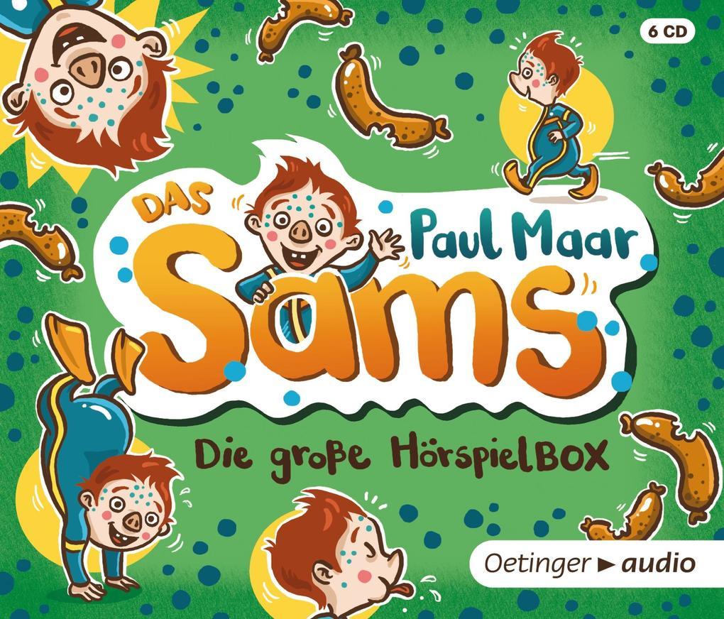 Das Sams. Die große Sams Hörspielbox (6 CD) als Hörbuch