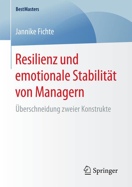 Resilienz und emotionale Stabilität von Managern als Buch