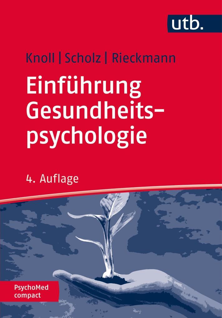 Einführung Gesundheitspsychologie als eBook