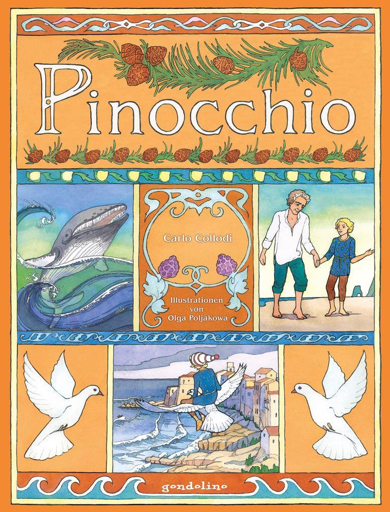 Pinocchio als Buch