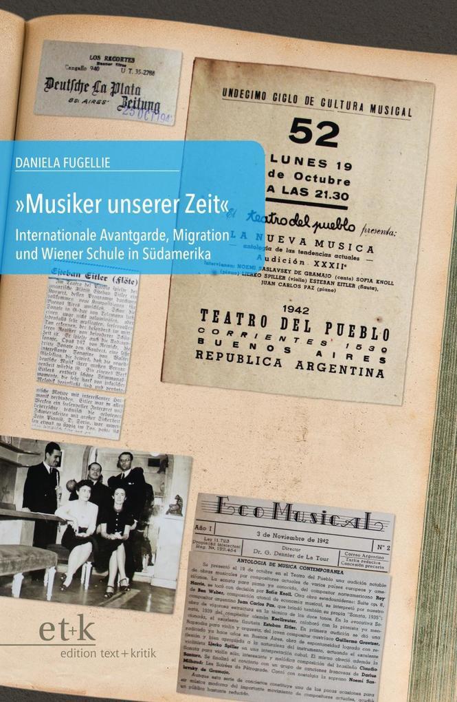 """""""Musiker unserer Zeit"""" als Buch"""