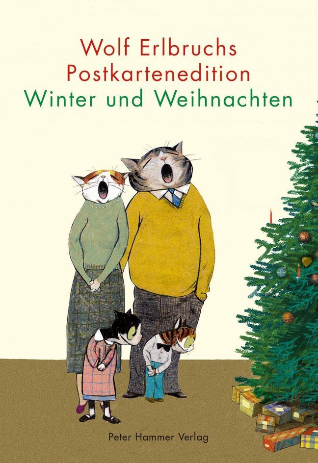 Wolf Erlbruchs Postkartenedition Winter und Weihnachten als sonstige Artikel