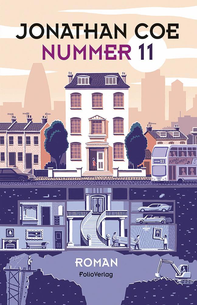 Nummer 11 als Buch von Jonathan Coe