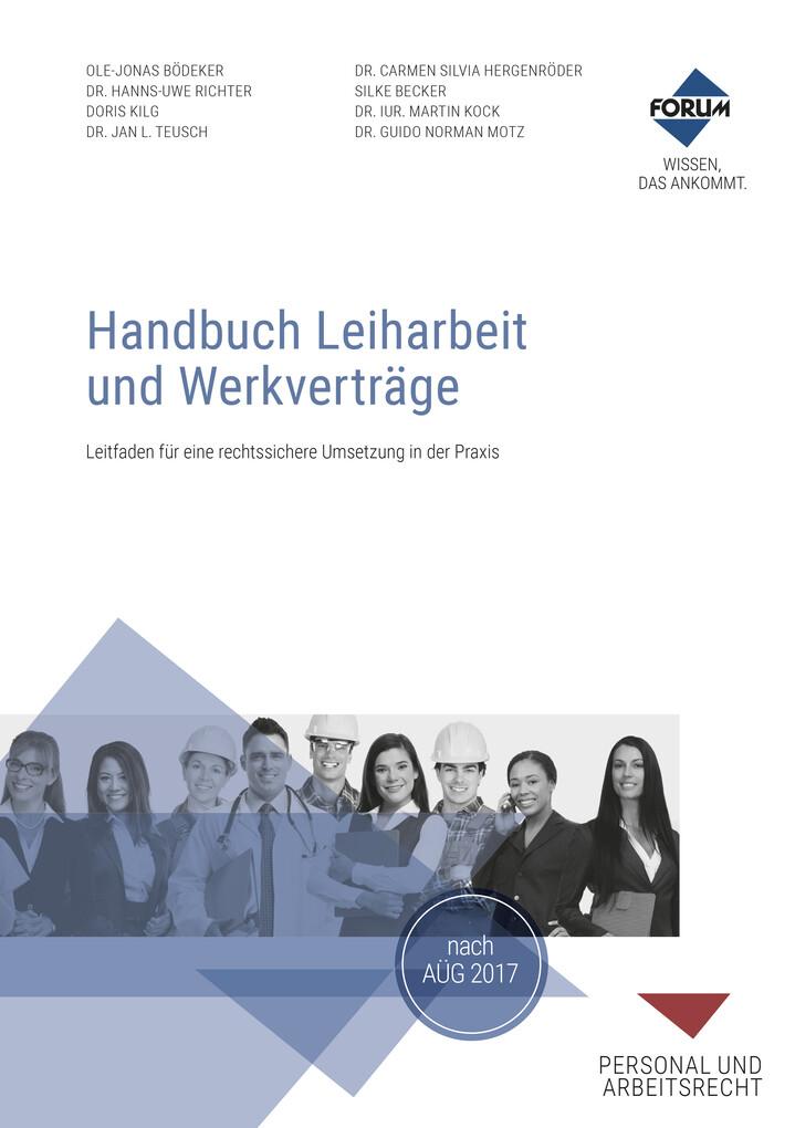 Handbuch Leiharbeit und Werkverträge als eBook