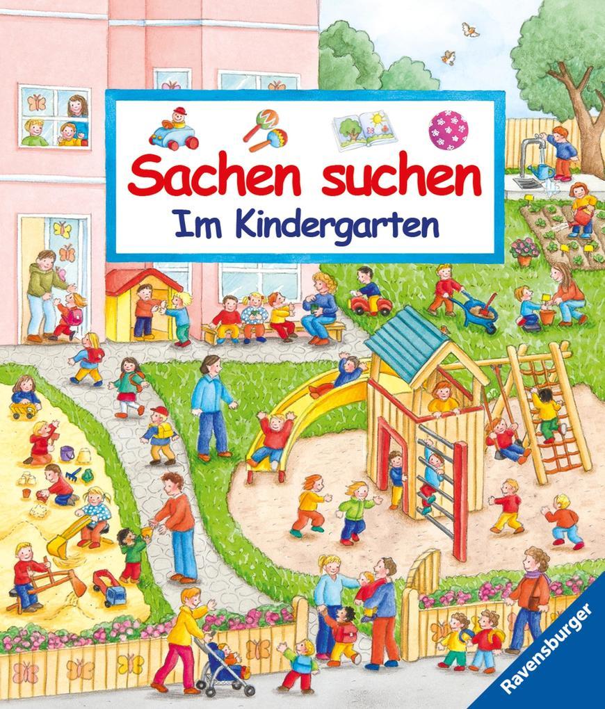 Sachen suchen - Im Kindergarten als eBook