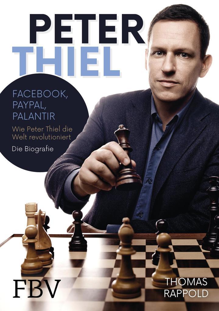 Peter Thiel als Buch von Thomas Rappold