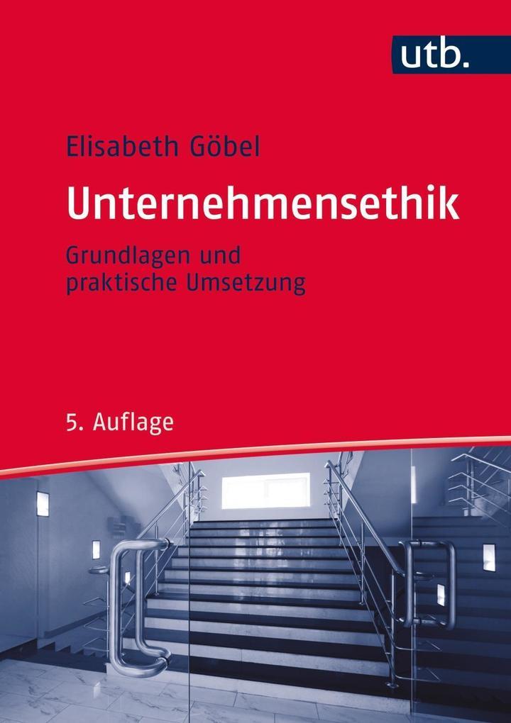 Unternehmensethik als Buch