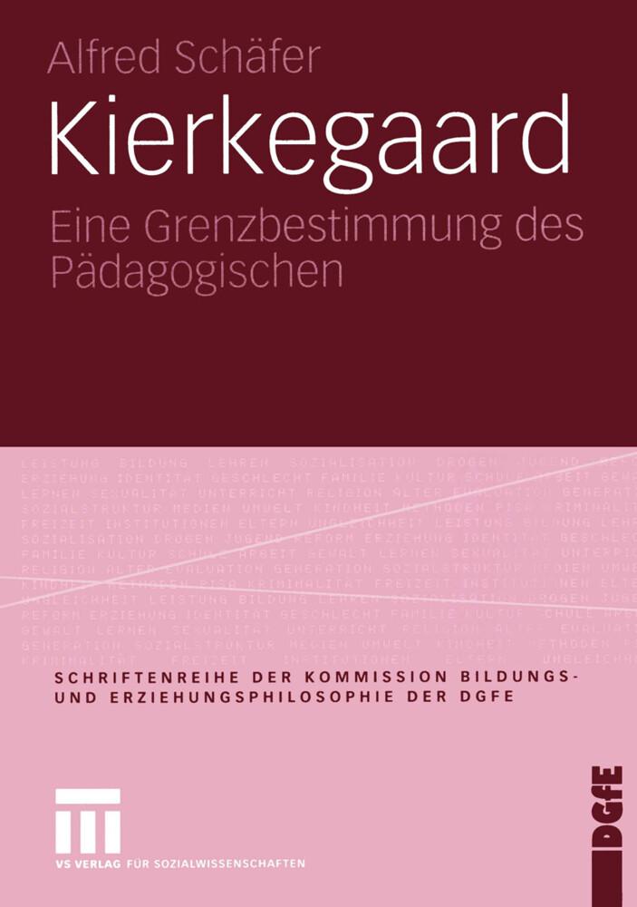 Kierkegaard als Buch (kartoniert)