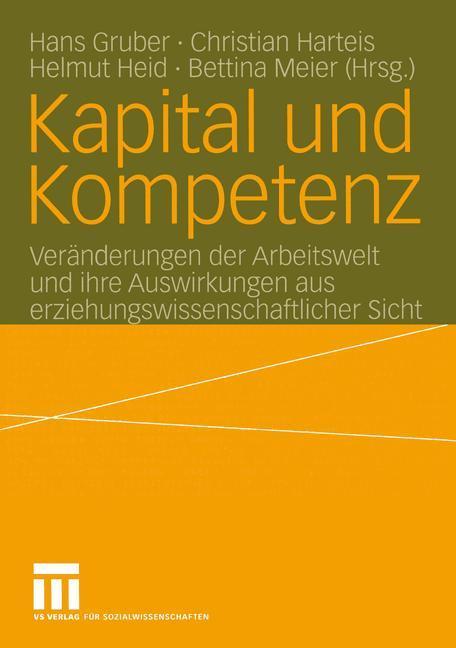 Kapital und Kompetenz als Buch (kartoniert)