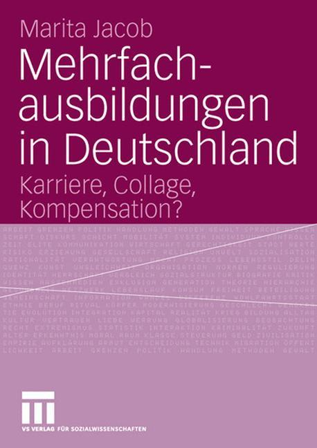 Mehrfachausbildungen in Deutschland als Buch (kartoniert)