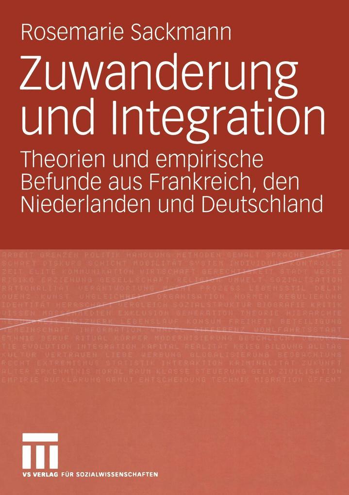 Integration von Zuwanderern als Buch (kartoniert)