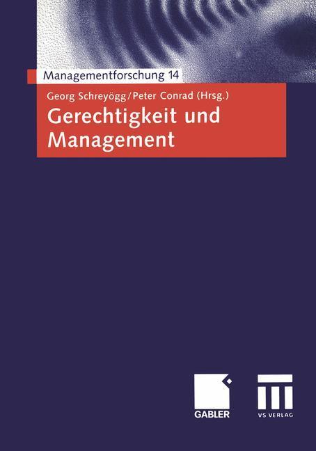 Gerechtigkeit und Management als Buch (kartoniert)