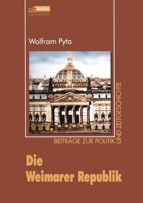 Die Weimarer Republik als Buch (kartoniert)