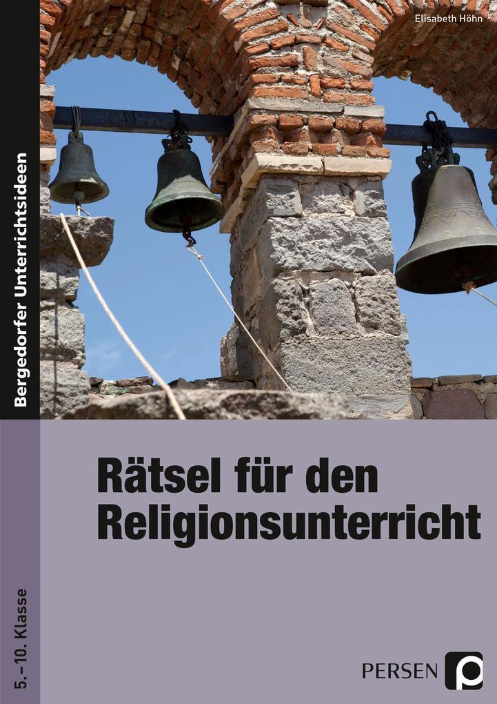 Rätsel für den Religionsunterricht als Buch (kartoniert)