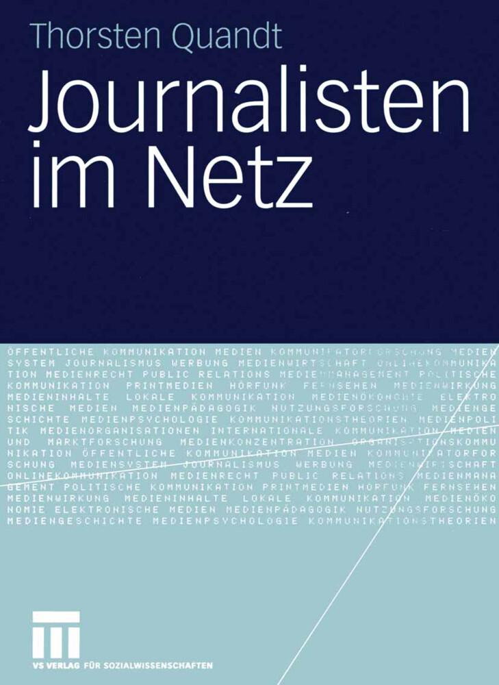 Journalisten im Netz als Buch (kartoniert)