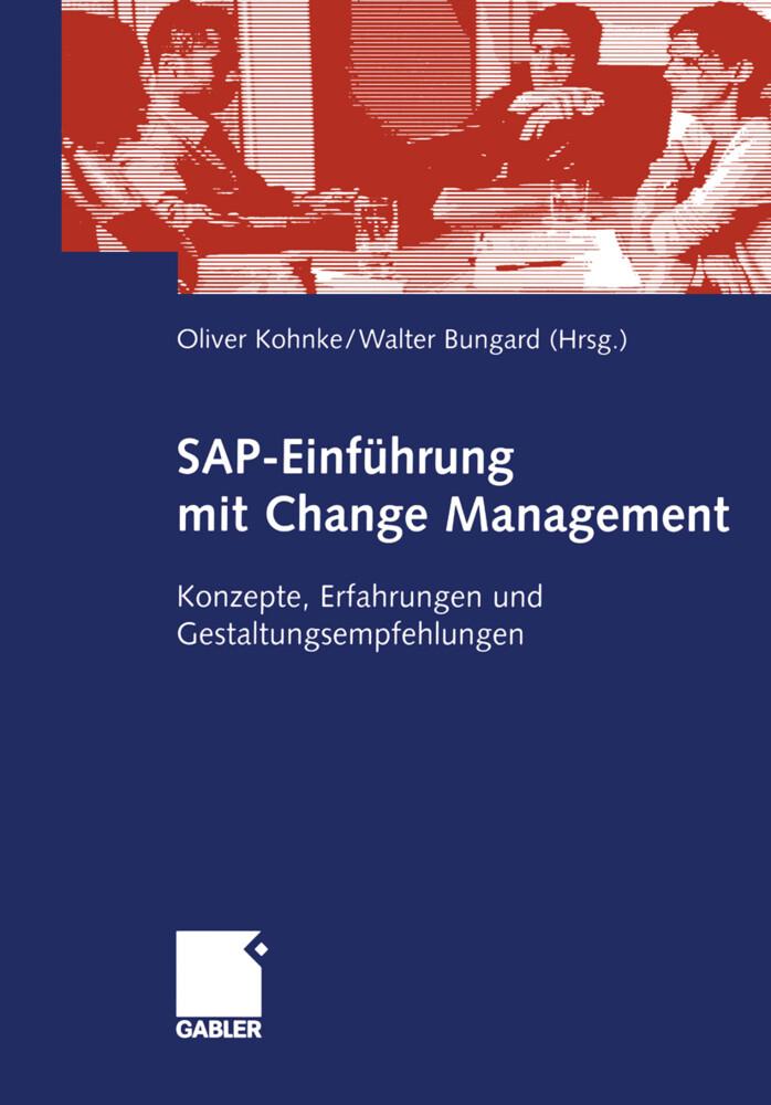SAP-Einführung mit Change Management als Buch (kartoniert)