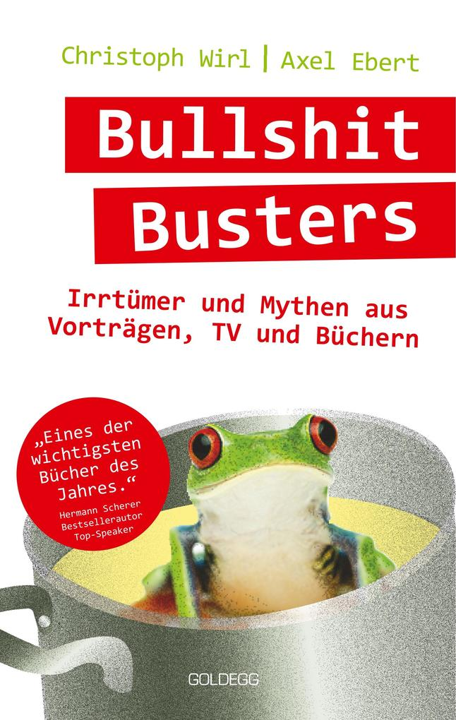 Bullshit Busters als Buch