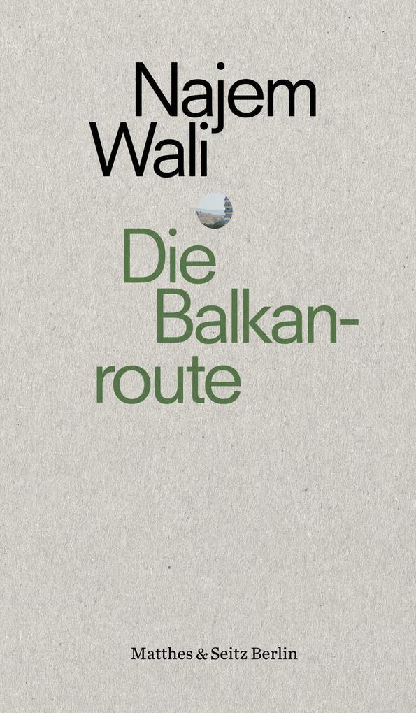 Die Balkanroute als Buch