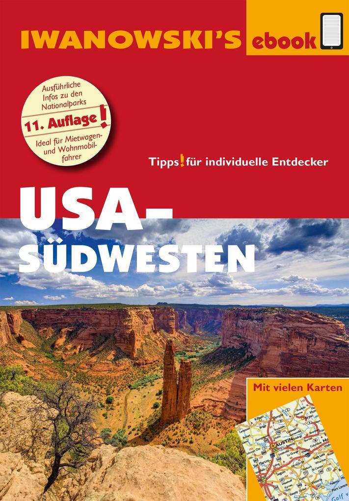 USA-Südwesten - Reiseführer von Iwanowski als eBook