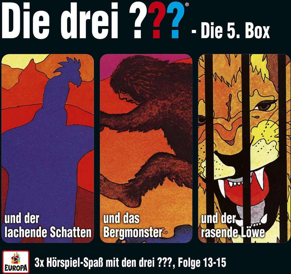 Die drei ??? Box 05. Folgen 13-15 (drei Fragezeichen) 3 CDs als CD
