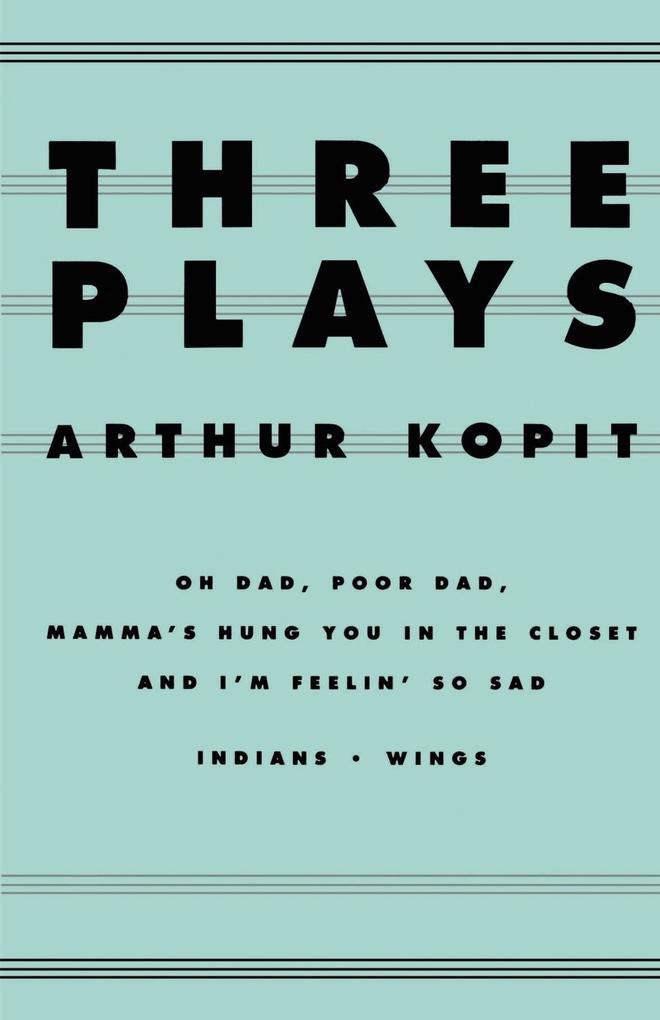 Three Plays als Taschenbuch
