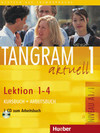 Tangram aktuell 1. Kursbuch und Arbeitsbuch, Lektion 1 - 4