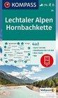 Lechtaler Alpen, Hornbachkette 1:50 000