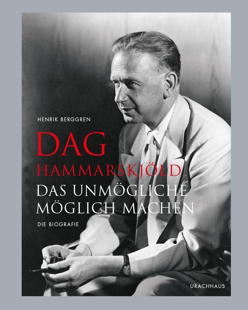 Dag Hammarskjöld als Buch von Henrik Berggren
