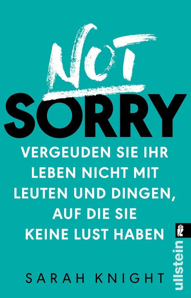 Not Sorry als Taschenbuch