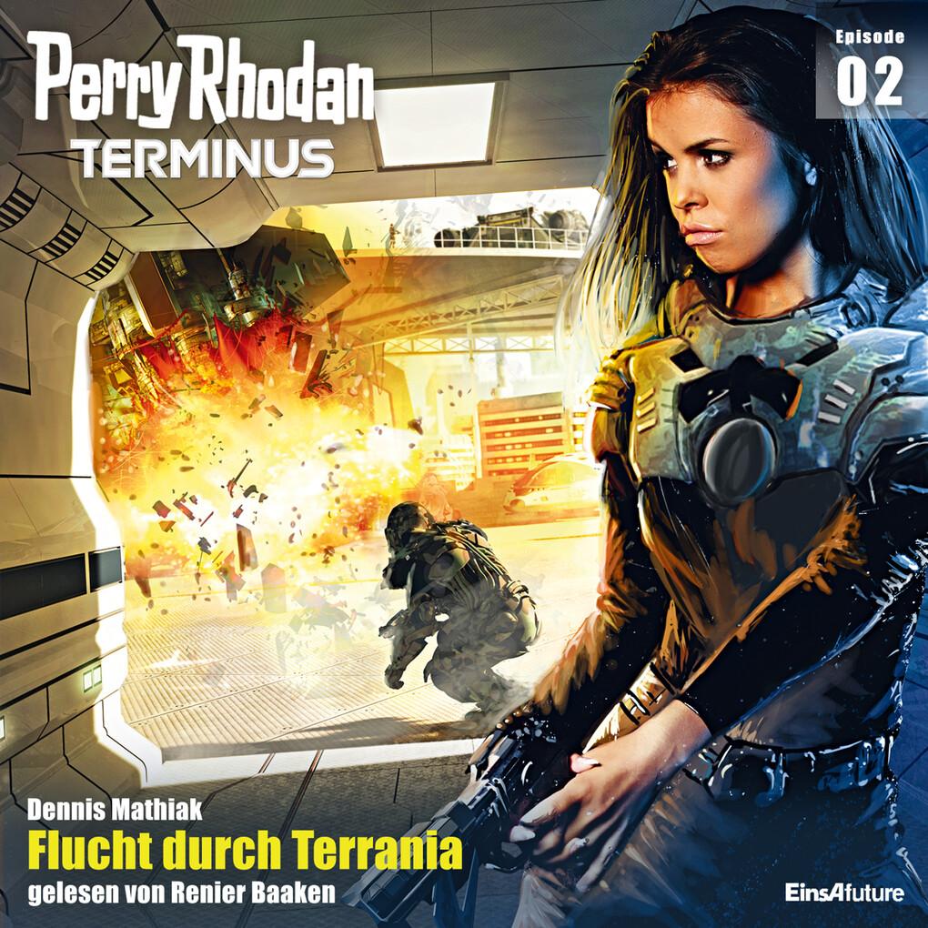 Terminus 2: Flucht durch Terrania als Hörbuch Download