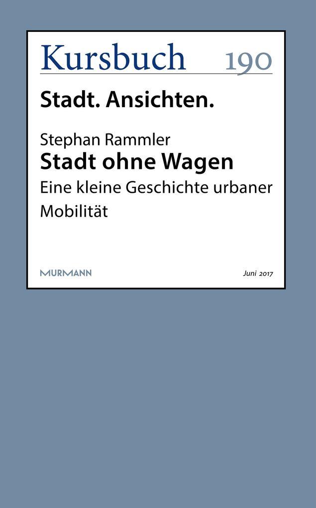 Stadt ohne Wagen als eBook