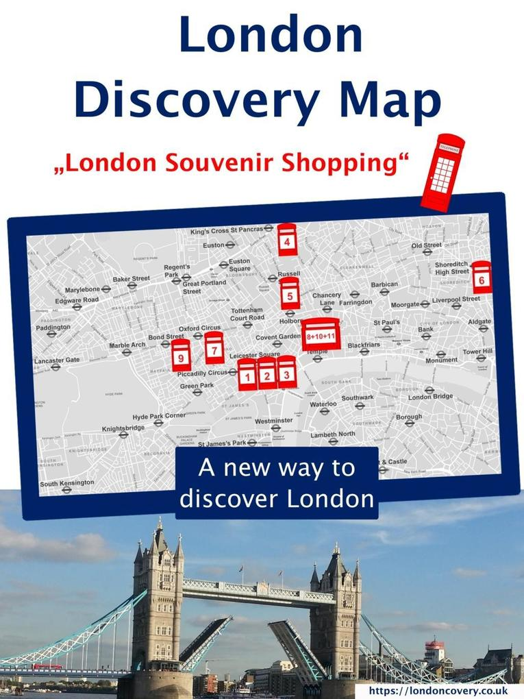 London Discovery Maps - a different London guid...