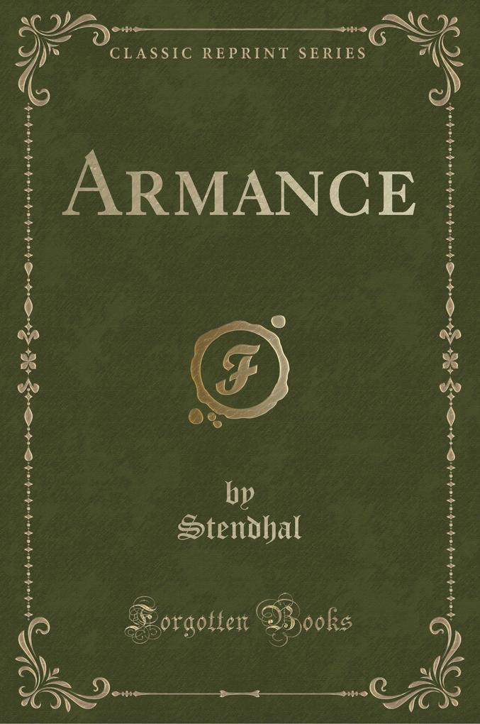 Armance (Classic Reprint)