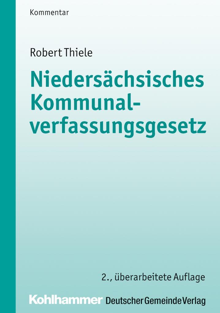 Niedersächsisches Kommunalverfassungsgesetz als eBook