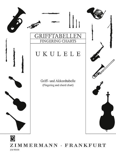Grifftabelle für Ukulele