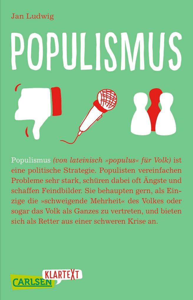 Carlsen Klartext: Populismus als eBook
