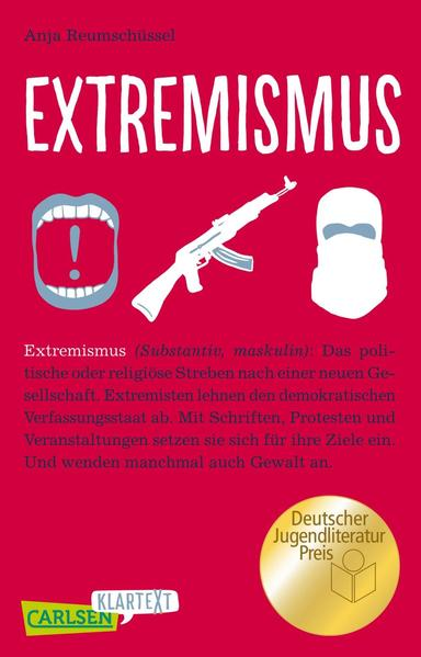 Carlsen Klartext: Extremismus als Buch