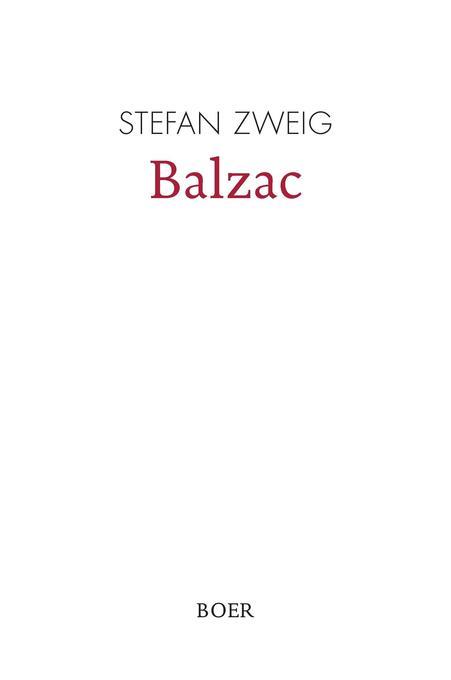 Balzac als Buch