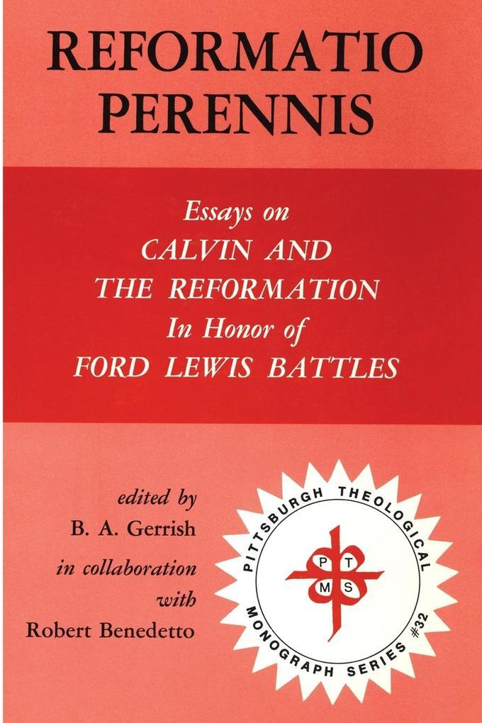 Reformatio Perennis als Taschenbuch