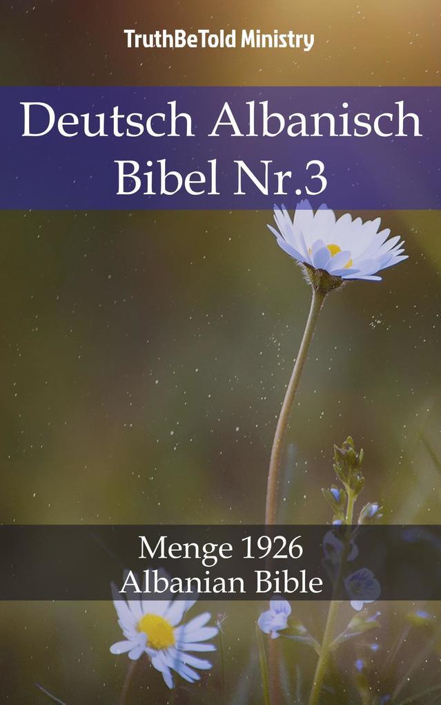 Deutsch Albanisch Bibel Nr.3