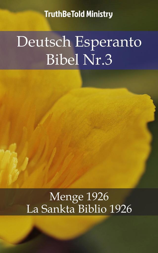 Deutsch Esperanto Bibel Nr.3